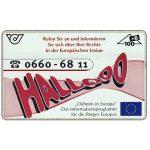 The Phonecard Shop: Austria, Hallooo, 100+6 units