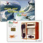 The Phonecard Shop: Bulgaria, Bulfon - Enjoy your holidays 5, surfing, 100 units