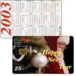 The Phonecard Shop: Bulgaria, Bulfon - Christmas 2002, Santa Claus, 25 units