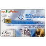 The Phonecard Shop: Bulfon - First Investment Bank, 25 units