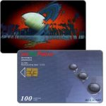 The Phonecard Shop: Bulgaria, Bulfon - Saturn, 100 units