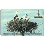 The Phonecard Shop: Bulgaria, Mobika - Storks Ciconia ciconia, 60 units