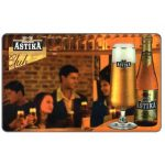 The Phonecard Shop: Bulgaria, Mobika - Astika Beer, 100 units