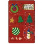 The Phonecard Shop: Mobika - Christmas 2001 1, Unicef, 25 units
