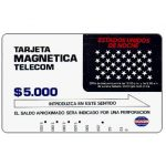 The Phonecard Shop: Colombia, Telecom - Night Calls, $5.000