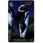 The Phonecard Shop: Falkland Islands, Cable & Wireless, Jackass Penguin, 1CWFB, £10