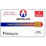 The Phonecard Shop: Paraguay, Antelco, Company Logo, 10 impulsos