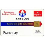 The Phonecard Shop: Antelco, Company Logo, 30 impulsos