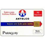 The Phonecard Shop: Paraguay, Antelco, Company Logo, 30 impulsos