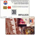 The Phonecard Shop: Antelco,  Montage, 30 impulsos