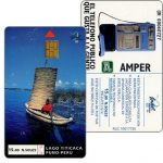 The Phonecard Shop: Peru, Entel - Trial card, Titicaca Lake (some small scratches), NS/.15
