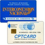 The Phonecard Shop: Peru, CPT - First issue, Banco de Credito, 80 units