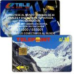 The Phonecard Shop: Peru, Telepoint - Paron Lake, Ancash, Puzzle 1/4, s/.10