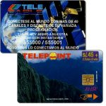 The Phonecard Shop: Peru, Telepoint - Macchu Picchu Puzzle 2/4, new price value, s/.45