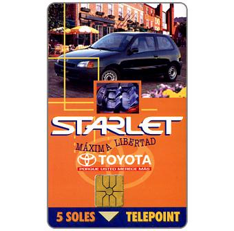 Telepoint - Toyota Starlet, s/.5
