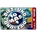 The Phonecard Shop: Peru, Telepoint - Diez+uno, s./10+1 gratis