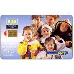 The Phonecard Shop: Uruguay, Antel, Children, group, $25
