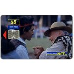 The Phonecard Shop: Uruguay, Antel, Rodeo, two men, $5