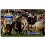 The Phonecard Shop: Uruguay, Antel, Rodeo, white horse, $5