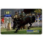 The Phonecard Shop: Uruguay, Antel, Rodeo, black horse, $5