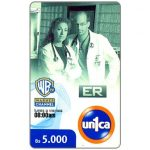 The Phonecard Shop: Un1ca - Warner Channel, ER, Bs. 5000