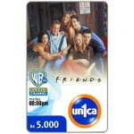 The Phonecard Shop: Un1ca - Warner Channel, Friends, Bs. 5000