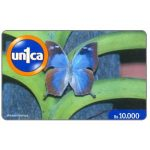 Phonecard for sale: Un1ca - Butterfly Amaea morvus, Bs. 10000
