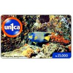 The Phonecard Shop: Un1ca - Molacanthus ciliaris, Bs. 15000
