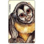 The Phonecard Shop: Venezuelan fauna, Aotus lemurinus, Bs. 2000