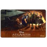 The Phonecard Shop: Disney's Atlantis 2, Bs. 3000