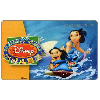The Phonecard Shop: Disney Regreso 4/4, Bs. 4000