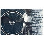 Phonecard for sale: Olympic sports, tennis, Bs. 5000
