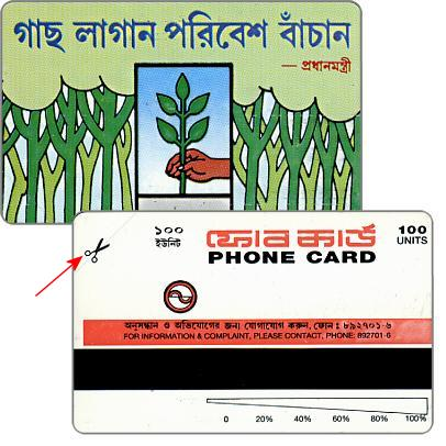 Hand planting a tree, different scissors, printing proof, missing green color, 100 units