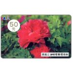 The Phonecard Shop: Heilongjiang - Peony, 50 元
