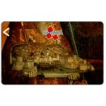 The Phonecard Shop: Dubrovnik, old town painting, 2CROD, 400 units
