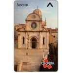 The Phonecard Shop: Croatia, Sibenik, 4CROI, 50 units