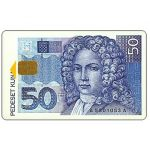 The Phonecard Shop: 50 kuna banknote, 50 units