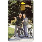 Phonecard for sale: Old people with bicycles, 50 units