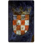 Phonecard for sale: Croatian flags, 1495, 100 units