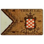 Phonecard for sale: Croatian flags, 1830, 50 units