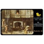 Phonecard for sale: Zagreb Film, Kuca br.42, 50 units