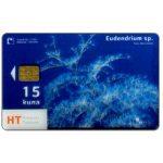 The Phonecard Shop: Croatia, Croatia's Undersea World, Eudendrium sp., transparent card, 15 kuna