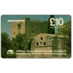 The Phonecard Shop: Cyprus, Kolossi Castle, 13CYPC on white strip, £10