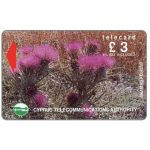 The Phonecard Shop: Cyprus, Flowers in Akamas Forest, 19CYPA, £3 (VAT included)