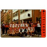 The Phonecard Shop: Denmark, Jydsk Telefon - Kolding Handball Team, 5 kr