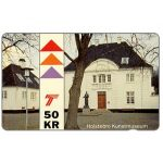 The Phonecard Shop: Jydsk Telefon - Holstebro Art Museum, 50 kr