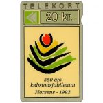 Phonecard for sale: Jydsk Telefon - 550 Years of the City of Horsens, 20 kr