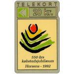 The Phonecard Shop: Denmark, Jydsk Telefon - 550 Years of the City of Horsens, 20 kr