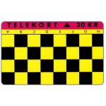 Phonecard for sale: Jydsk Telefon - Chess Game H-A, 20 kr