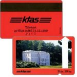 The Phonecard Shop: KTAS - Marienlyst Castle, red reverse, 20 kr